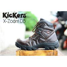 Sepatu Safety Boots KULIT ASLI KICKERS Men's Zoom