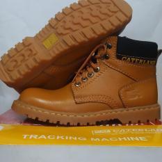 Harga Sepatu Safety Caterland Sepatu Boots Pria Caterland Warna Tan Sepatu Gunung Di Dki Jakarta