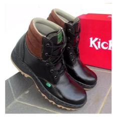 Beli Sepatu Safety Kickers Bams Safety Shoes Kickers Sepatu Pria Safety Kickers Sepaty Kickers Bams Hitam Kickers Asli