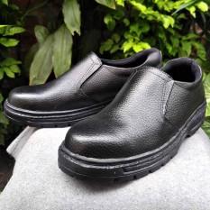 sepatu safety KULIT SAPI ASLI 701 original