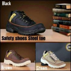 Sepatu Safety Low Caterpillar Kw Super (Sepatu Kulit Kerja Proyek) - 2Rymoj