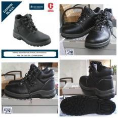 Sepatu Safety / Proyek Bata Industrial Darwin Black - 79676B