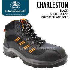 Sepatu Safety Shoes Bata Charleston - 7Db6a7