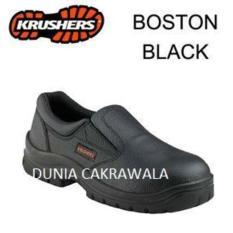 Sepatu Safety Shoes Krushers Boston Black