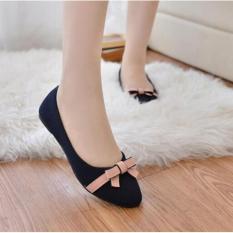 Jual Sepatu Sandal Flat Shoes Wanita Bl65 Scriptls Asli