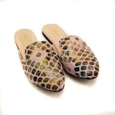 Sepatu Sandal Mule Fashion Allegro AW66