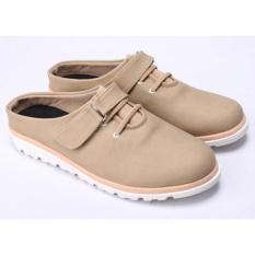 Harga Sepatu Sandal Sendal Bustong Wanita Cewek Cewe Terbaru Krem Do 041 Cz Termurah