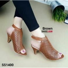 Beli Sandal Wanita High Heels Sl17 Tan Not Specified