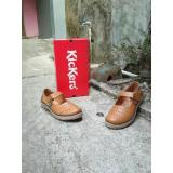 Promo Sepatu Sandal Wanita Kickers Original Leather Brown Kickers