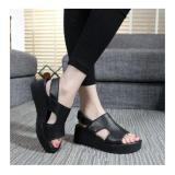 Beli Sepatu Sandal Wedges Elegant