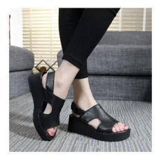 Harga Sepatu Sandal Wedges Elegant Apmol Baru