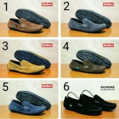 Sepatu Santai Kickers Slop Slipon Classico Casual Murah