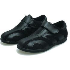 Sepatu sekolah anak Ligh star-sepatu sekolah hitam ori java asli