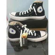 Sepatu Sekolah Converse Allstar High Hitam  Murah +Box - K7rwza