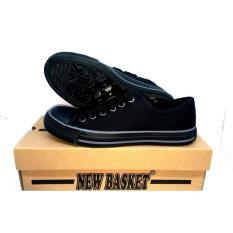 Sepatu Sekolah Hitam New Basket Nb 338 Lc- Full Hitam- Full Black - Grjy5v