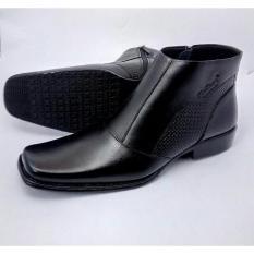 Beli Sepatu Semi Boot Formal Branded 0314 Ht Kredit South Sumatra