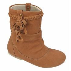 Sepatu Semi Boots Anak Perempuan Balita Ukuran 26-30 Original Bandung Real Picture