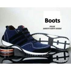 sepatu semi boots felix DC