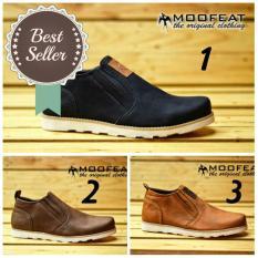 Beli Sepatu Semi Boots Slop Moofeat Original Murah Di Banten