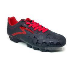 Sepatu Sepak Bola SPECS QUARK FG Black / Emperor Red 100% ORIGINAL
