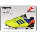 Spesifikasi Sepatu Sepakbola Sevenray La Pulga Hijau Biru Dan Harga