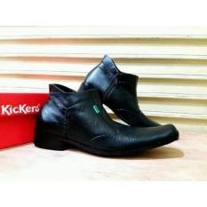 Diskon Sepatu Sepatu Pdh Kickers Formal Pria Kulit Kerja Pantofel Kantoran Semi Boot Jawa Barat