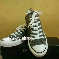 Sepatu Shoes Converse All Star Low Basic Grey/Abu Abu 100% Original - Smwqiz