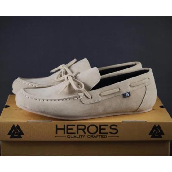 sepatu slip-on & loafers casual / sepatu formal pria  heroes