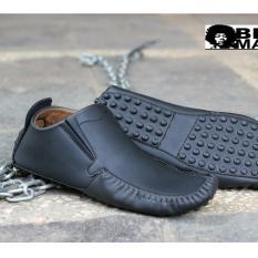 Sepatu Slip On Casual Pria - Blackmaster Original - Blackmaster Alien  ( HITAM )