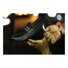 Promo Toko Sepatu Slip On Casual Slop Kulit Black
