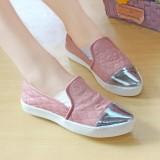 Sepatu Slip On Channel Wanita Nafiza Salem Nfz 001 Jawa Barat Diskon