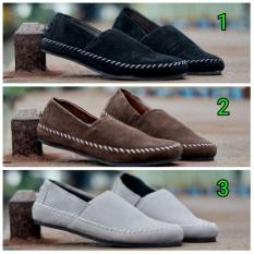 Sepatu Slip On Moofeat Slop Gabrielle Pria Murah - Sneakers - Casual - Kets - Fahsion - Loafers