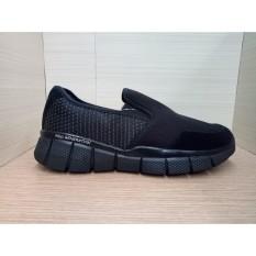 Cuci Gudang Sepatu Slip On Sepatu Casual Ardiles Closer Hitam