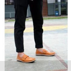 Beli Barang Sepatu Slip On Slop Loafer Sepatu Loafer Sepatu Cevany Original Ryuzin Tan Online