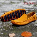 Jual Sepatu Slip On Slop Pria Kulit Asli Dr Faris Mocasin Tan Dr Faris