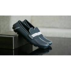 Sepatu Slipon Casual Semi formal kerja kantor bally moccasin