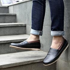 Sepatu Slipon Slop Kasual Pria - JOEY COLE - Black