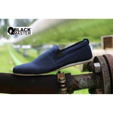 sepatu slop , sepatu slipon , sepatu casual , sepatu santai, sepatu kuliah, sepatu wakai, sepatu pria original blackmaster