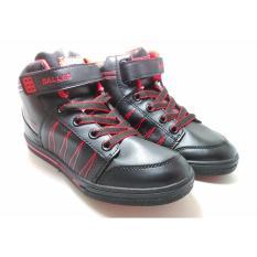 Laphiko Sepatu Sekolah Sneakers Unisex Hitam - Dallas Country