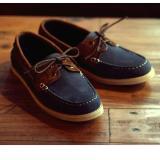 Jual Sepatu Sneaker Odyssey Graziano Navy Coklat Di Bawah Harga