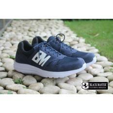 Sepatu Sneaker Pria -Sepatu Blackmaster Original - NB ( NAVY )