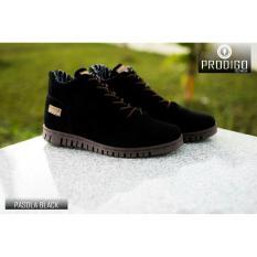 Diskon Sepatu Sneakers Boots Pria Prodigo Pasola Black Jawa Barat