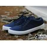 Jual Sepatu Sneakers Casual Pria Nyaman Terlaris Blackmaster Suarez Navy Antik