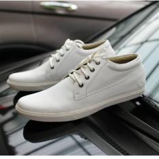 Beli Sepatu Sneakers Casual Pria Original Terbaru Country Boots Spliz White Secara Angsuran