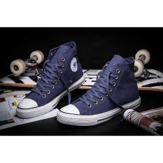 sepatu sneakers HUNGRY shop sepatu converse all star unisex-NAVY