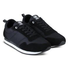 Sepatu Sneakers Kets dan Kasual Anak Laki Perempuan bisa untuk Sekolah dan Olahraga 472 - Hitam
