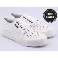 Sepatu Sneakers Kets Wanita Catenzo AK 818 Putih Sintetis