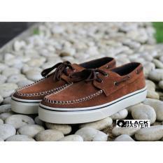 Sepatu Sneakers Low Pria Modis Terkini - BLACKMASTER ZAPATO - Black / Tan / Grey