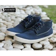 Sepatu Sneakers Nyaman Pria Modis Terkeren - BLACKMASTER GRUFY - Navy