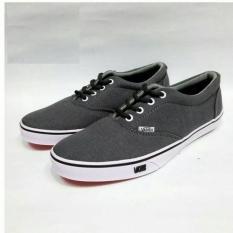 Jual Sepatu Sneakers Pria Abu Abu Termurah